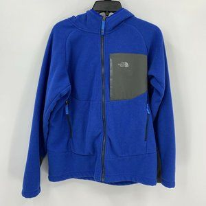 The North Face Jacket Blue Fleece Fuzzy Lining